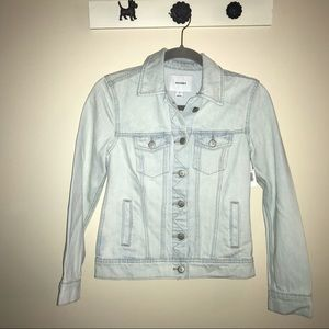 OLD NAVY Light-Wash Jean Jacket. NWT